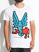Alien Workshop x Keith Haring Batdog T-Shirt