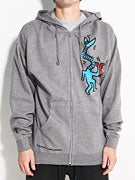 Alien Workshop x Keith Haring Snakeman Hoodzip