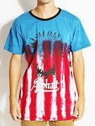 Asphalt Eagle Headdress Tie Dye T-Shirt
