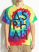 Asphalt Reactive Rainbow Knockout T-Shirt