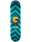 Birdhouse Hawk Mcsqueeb Teal Deck  8.0 x 31.75