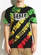 Baker Brand Logo Bamboo Tie Dye T-Shirt
