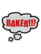 Baker Bubble Sticker