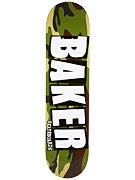 Baker Brand Logo Camo/White Deck  7.75 x 31