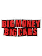 Baker Big Money Big Cars Sticker