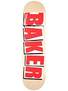 Baker Brand Logo Natural/Red Deck  8.5 x 32