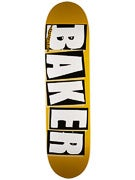 Baker Brand Logo Yellow/Black Deck  8.19 x 32.25
