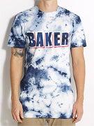 Baker Brand Logo Marble Tie Dye T-Shirt