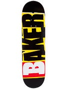 Baker Reset Logo Black/Yellow Deck  8.38 x 32
