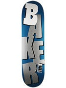 Baker Stacked Metallic Navy/Silver Deck  8.38 x 32