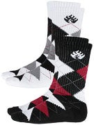 Black Label Argyle Socks 2 Pack