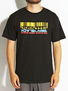 Black Label Barcode Colors T-Shirt