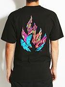 Black Label Blood & Guts Flame T-Shirt