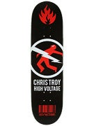 Black Label Troy High Voltage Deck  8.5 x 32.12