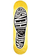 Black Label Matt Hensley Classic Yellow Deck  8.68x32