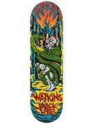 Black Label Watkins Suffer Deck  8.68 x 32.63