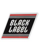 Black Label Top Shelf Metal Small Sticker