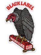 Black Label Vulture Curb Club Sticker