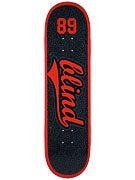 Blind Athletic Skin Red/Black Deck  8.38 x 31.8