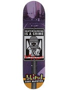 Blind McEntire Crime Sign Deck 8 x 31.6