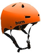 Bern Macon Thin Shell (CPSC) Helmet  Matte Orange