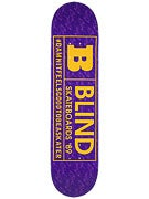 Blind Rated B Purple/Yellow Deck  7.75 x 31.2