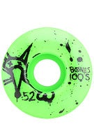 Bones 100's Asst. Colors Wheels