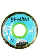 Bones STF Bingaman Bogey Green V2 Wheels