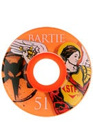 Bones STF Bartie Saint Orange V1 Wheels