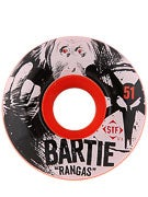 Bones STF Bartie Ranga Orange V1 Wheels