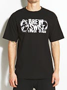 Brew Swet Crushed T-Shirt