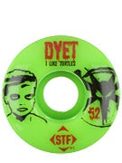 Bones STF Dyet Turtles Green V1 Wheels