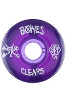 Bones SPF Clear Purple Wheels