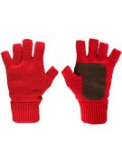 Brixton Cutter Gloves  Dark Red