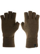 Brixton Heist Cut Off Gloves  Olive