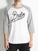 Brixton Charge Premium 3/4 Sleeve Shirt
