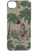 Brixton Crest IPhone 5 Case  Luau/Cream/Green