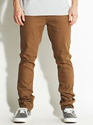 Brixton Delgado Twill Pants Copper