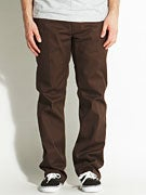 Brixton Fleet Chino Pants Brown
