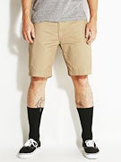 Brixton Fleet Shorts  Dark Khaki