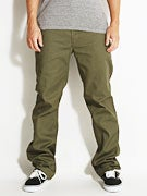 Brixton Fleet Chino Pants  Olive