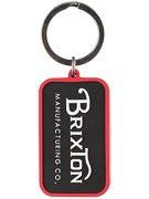 Brixton Grade Keychain  Black