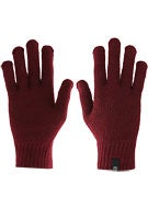 Brixton Heist Full Finger Gloves  Burgundy