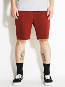 Brixton Madrid Shorts Burgundy