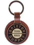 Brixton Nova Keychain  Brown