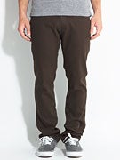 Brixton Reserve Twill Pants  Brown
