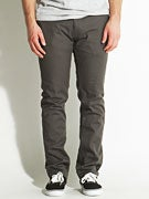 Brixton Toil II Chino Pants Charcoal