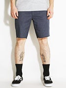Brixton Toil II Chino Shorts  Washed Blue