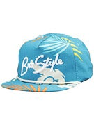 Bro Style Tropic Print 5 Panel Hat