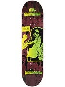 Creature Partanen Purple Pussy Cat Deck  8.2 x 31.9